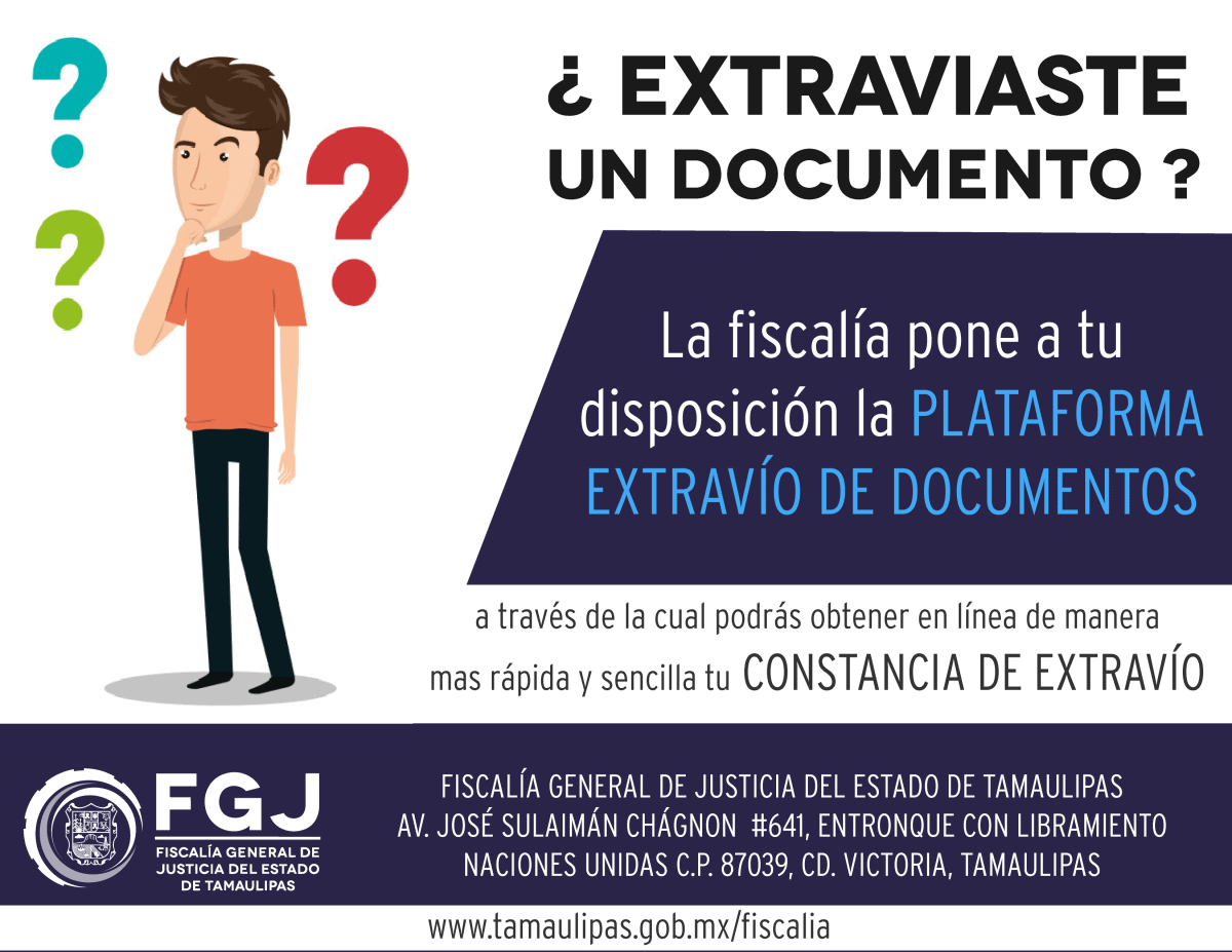 EXTRAVÍO DE DOCUMENTOS